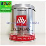 6 Latas Cafe Illy Espresso 125g Molido Envio Gratis Hot Sale