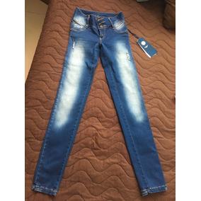 Jeans Studio F Colombiano Levanta Pompis Mezclilla Jeans