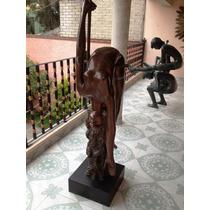 Lrc Escultura Skylark-alondra, Mujer Desnuda, Arte.