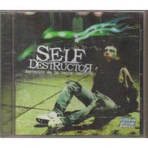 Self Destructor - Depresion ( Metal Mexicano ) Cd Rock