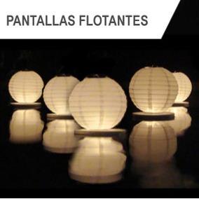 Pantallas Flotantes (paquete 5 Piezas) -ideal Para Eventos