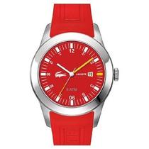 Reloj De Pulsera Unisex Lacoste Rojo 2010631 Pm0