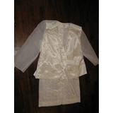 Remato Conjunto Falda Y Saco De Fiesta Vestido Mujer