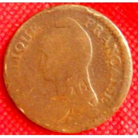 2 Décimos 1795 - 96 Francia Directorio Primera República Hm4