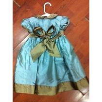 Vestido De Fiestas Para Niña $935.00