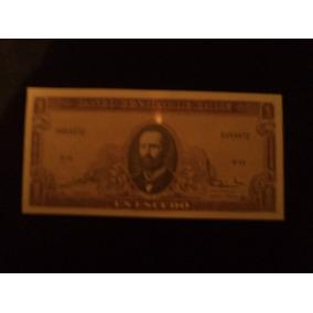 Billete Un Escudo Del Banco Central De Chile
