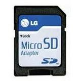 2 Adaptadores Lg Para Tarjeta De Memoria Micro Sd A Sd