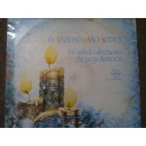 Disco Acetato De: En Navidad Y Año Nuevo