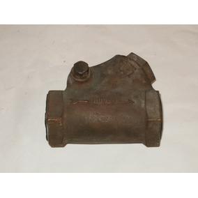 Valvula Check De Columpio 1 1/2 Rosca Urrea De Bronce 38 Mm
