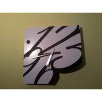 Reloj De Pared Promocional De Diseño Con Tu Logo O Imagen