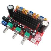 Placa Amplificador 2.1 Compacto - 50w+50w+100w=200w Rms