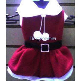 Vestido Santa Claus Talla 6 Para Perritas Envio Gratis