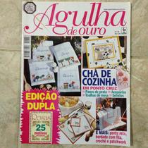 Revista Agulha De Ouro 38 Chã De Cozinha Ponto Cruz