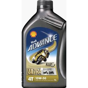 Óleo Shell Advance Ultra 15w50 100% Sintético Ducati C/ N F.