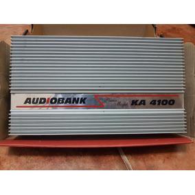 Módulo 4 Canais Audiobank Ka4100 Som Qualidade