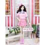 Roupa P/ Boneca Barbie * Uniforme Colegial + 2 Sapatos * 67f