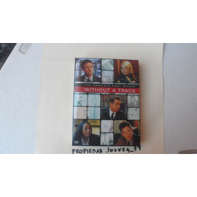 Serie Without A Trace Sin Rastro 4 Discos Lado A Y B