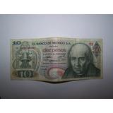 Se Venden 10 Billetes De 10 Pesos