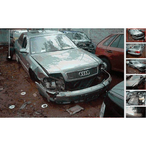 Audi A8 Accidentado Chocado Por Partes