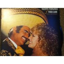 Disco Acetato De: Vicente Fernandez Y Vikki Carr