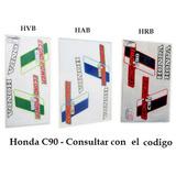 Calcos C90 Honda Econo Power Azul Verde Roja Kit Calcomanias