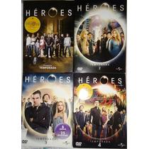 Heroes Temporadas 1 2 3 4 Serie De Tv En Dvd