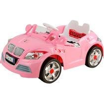 Auto Sport Electrico Infantil Rosa Mp3-in Control Remoto Hwo