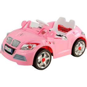 Auto Sport Electrico Infantil Rosa Mp3-in Control Remoto Hwo