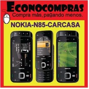 Carcasa Completa Para Nokia N85 Negro Y Cobre 100% Nuevos