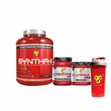 Syntha 6 5lb + Creatina Dna + Glutamina Dna + Vaso Bsn