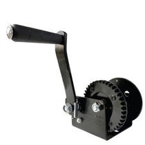 Malacate Winch Manual Negro 1200 Lbs O 540 Kilos Sin Cable