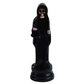 Santa Muerte Chica Figura De Resina Para Rituales, Oraciones