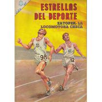 Estrellas Del Deporte:comic No.1 Presenta Zatopek, $200.00