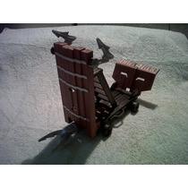 Playmobil Torre De Asalto Mediana Perfecto Estado