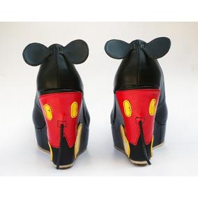 Zapatos Custom Mickey Mouse