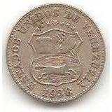 Moneda Venezuela 5 Céntimos 1938