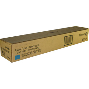 Toner Xerox Docucolor 240 250 260 7655 Cyan No. 006r01222