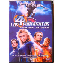 Los 4 Fantasticos Y Silver Surfer Jessica Alba / Dvd Usado