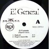 El General El Funkete Remixes Acetato Hip Hop Dj 90