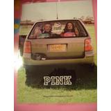 Poster Chicas En Carro Victorias Secret Pink Juvenil Moda