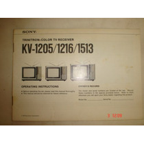 Diagrama Tv Sony Trinitron