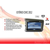 El Buen Fin Stereo Oem Civic 2012 Touch 7hd Dvd Gps