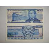 Billetes Antiguos 50 Pesos. B.juarez Año 1973. Sin Circular.