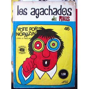 Historieta.los Agachados De Rius,edit. Posada. # 46,1970