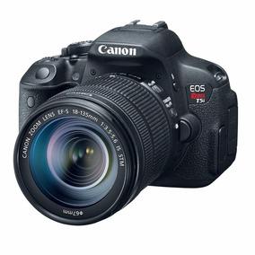 Camera Digital Canon Rebel T5i Lente 18-135m Retira No Local