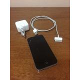 Iphone 4s 16gb Preto Com A Tela Trincada