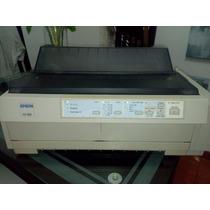 Impresora De Punto Epson Fx-980 Matricial De 9 Agujas
