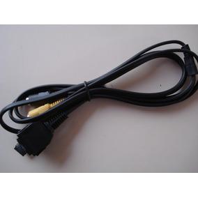 Cable Usb Audio Video Sony Dsc-w130 W200 W300