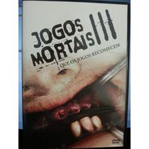 Dvd Terror: Jogos Mortais 3 Que Jogos Recomecem - Fr Grátis