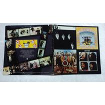 The Rutles 1978 Parodia Lp Con Revista Y Letras De Coleccion